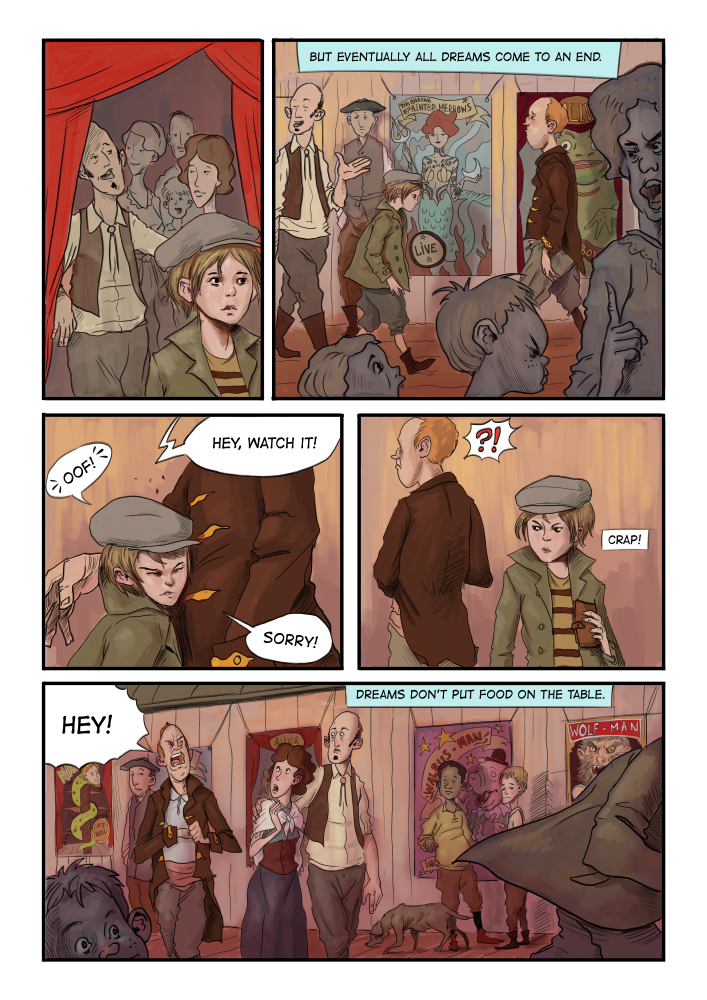WaterFront chapter 1, page 3