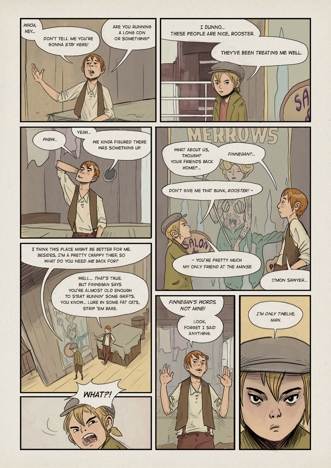 WaterFront chapter two, page 12