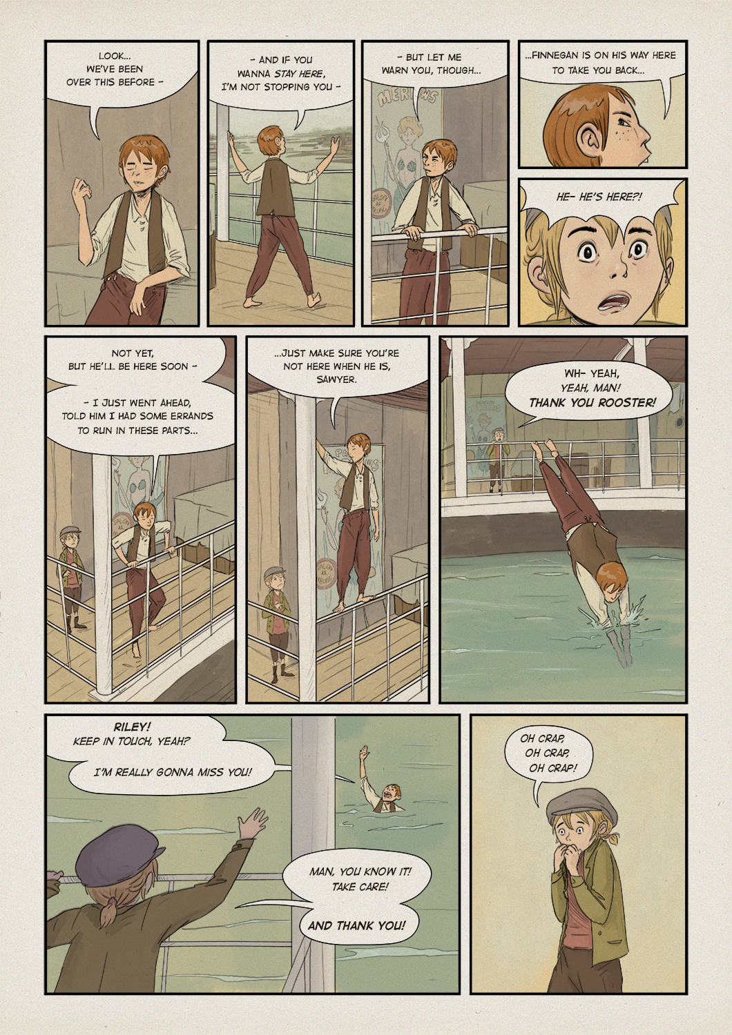 WaterFront chapter two, page 13